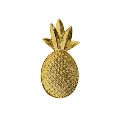 Pineapple Tray - Gold