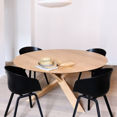 Circle Round Dining Table - 136cm