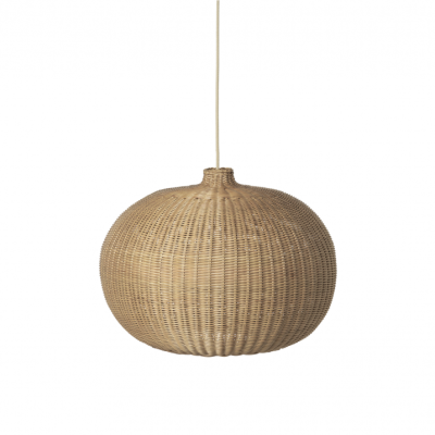 Braided Lamp Shade - Belly