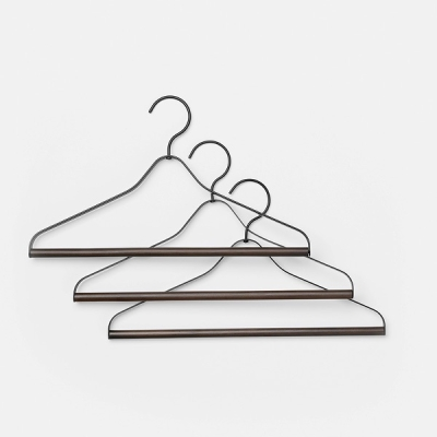 Coat Hangers (set of 3) - Black
