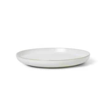 Sekki Plate - Cream - Large