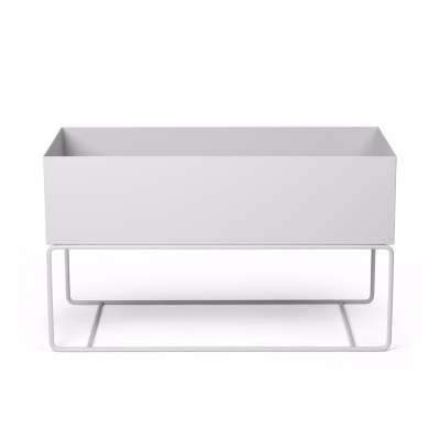 Plant Box - Large - Light Grey