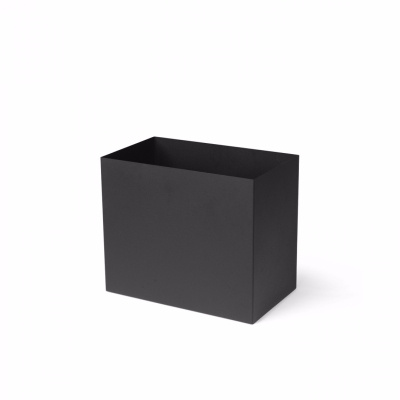 Plant Box Pot - Large - Black