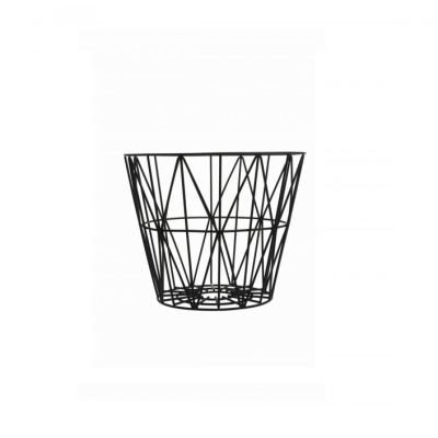 Wire Basket - Black - Medium