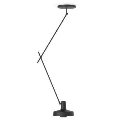 Arigato Ceiling Lamp Long AR-CL - Black/White