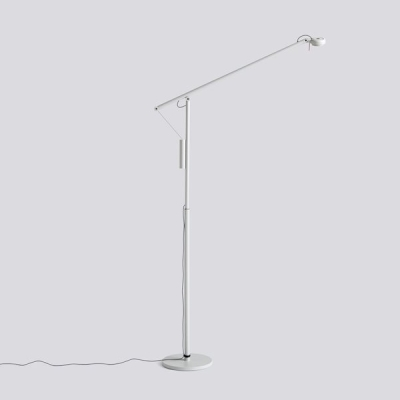 Fifty Fifty Floor Lamp - Black/Grey
