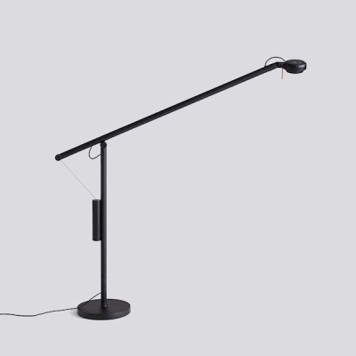 Fifty Fifty Table Lamp - Black/Grey