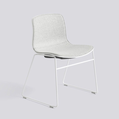 About A Chair AAC08 - White Base - Divina Melange 120