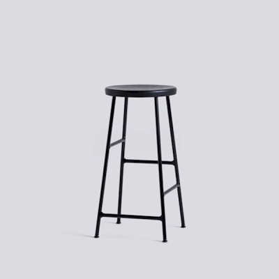 Cornet Bar Stool - H65 - Black Base (More Colours Available)