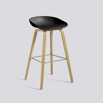 About A Stool AAS32 ECO - Black