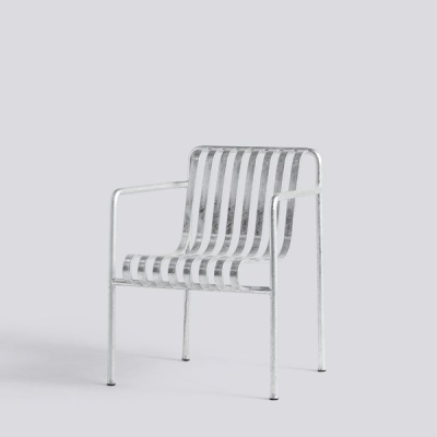 Palissade Dining Armchair - Hot Galvanised