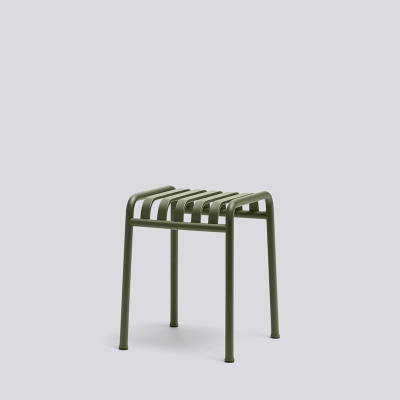 Palissade Stool - Anthracite/Olive/Sky Grey
