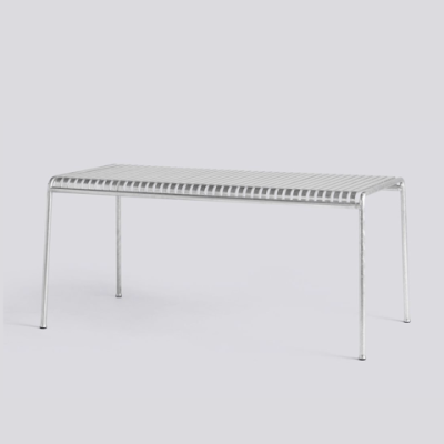 Palissade Table - Hot Galvanised - Large