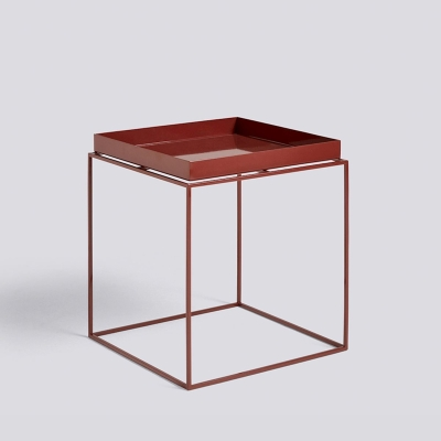 Tray Table - 40x40 - Chocolate High Gloss