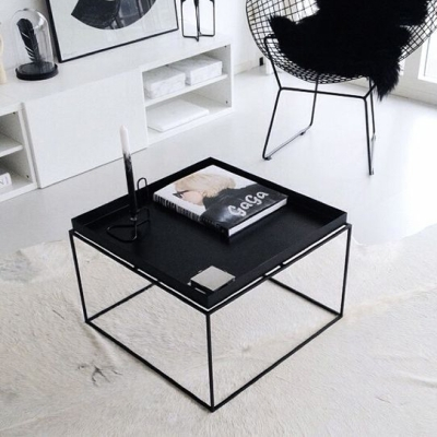Tray Table - 60x60 - Black (Fast Track)