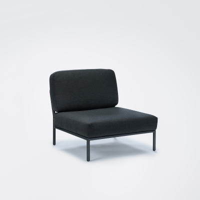 Level Lounge Chair - Sooty Grey