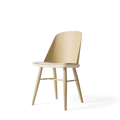 Synnes Chair - Textile Seat - Oak/Black Ash