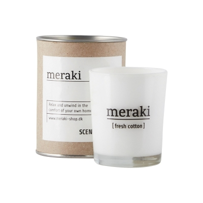 Scented Candle - Fresh Cotton - Small
