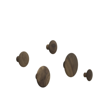 Dots - Walnut (set of 5)