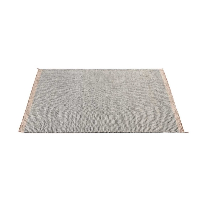 PLY Rug - Medium - Black&White/OffWhite/DarkGrey/Rose/Yellow