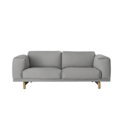 Rest Sofa 2-Seater - Steelcut Trio 133