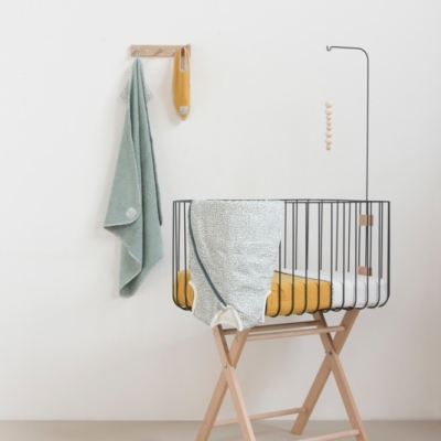 Swaddle - Mustard Dot