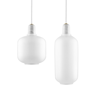 Amp Lamp - White/White - Small