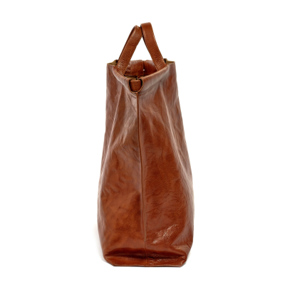 The Shopper Bag by Bea Mombaers - Cognac