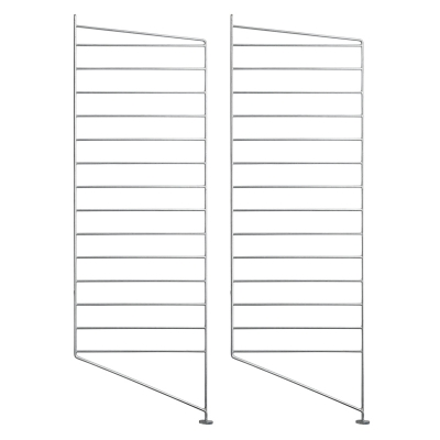 Side Panel Floor (set of 2) - 85cm x 30cm - Galvanized (Outdoor Use)
