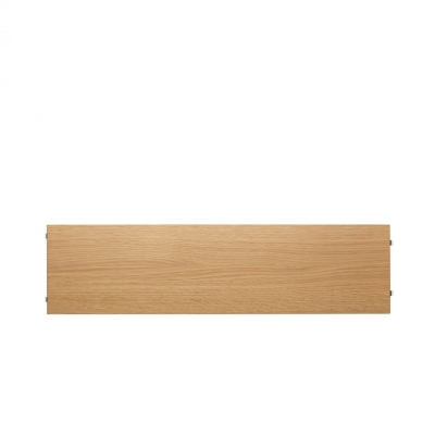 Shelves (set of 3) - 58cm x 20cm - Oak