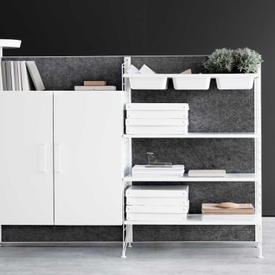 Filling Cabinet - White