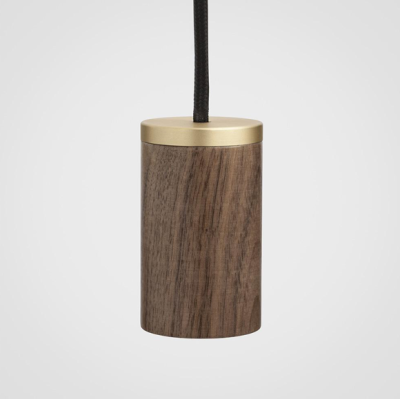 Walnut Pendant E27