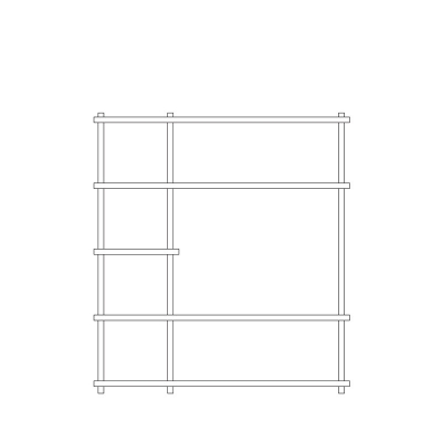 Elevate Shelving System 7